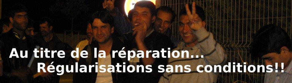 Cimade Languedoc : Régularisation pour les 19 Afghans de Nîmes ! dans Sans Papiers - Immigration afghans